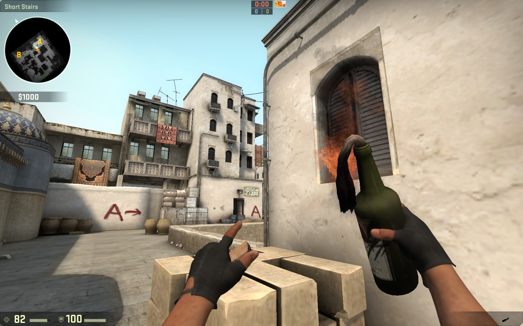 how to give molotov in csgo
