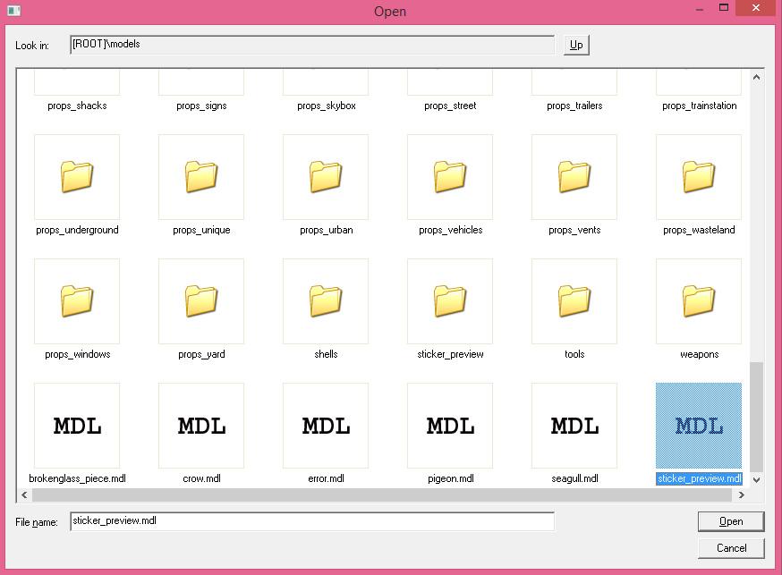 Как создать mdl файл