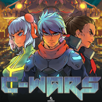 C-Wars: Roguelike Pixel Art PC Game